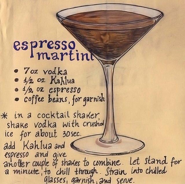 Expresso Martini Espresso Martini Espresso Martini Recipe Martini Recipes