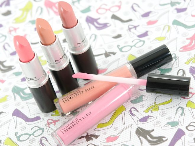 MAC Cremesheen + Pearl Collection for Fall 2012 (includes Peach Blossom lipstick)