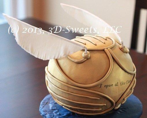 Potter Gold Ball Sugar Paste Harry Quidditch Snitch Cupcake Topper Fondant Mini Gold Snitch Ball Gumpaste Quidditch Cake Decoration