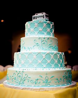 #Something Blue Wedding Cake  Thanks again for viewing...feel free to Pin, Like, or Comment!