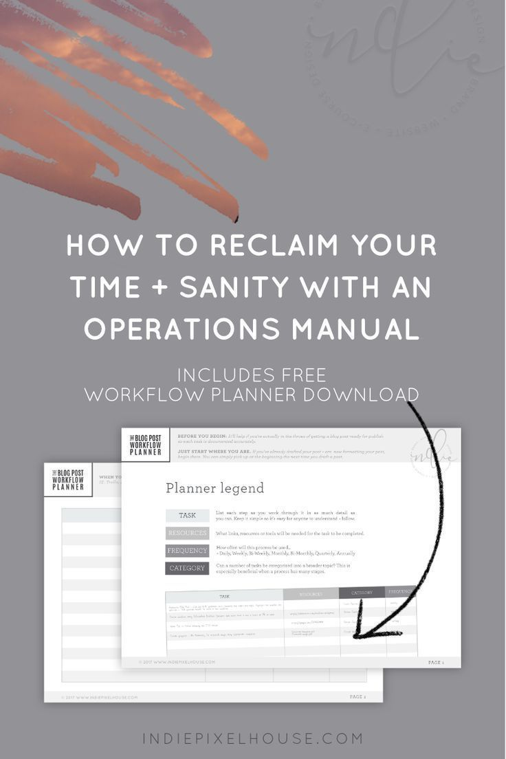 How to reclaim your time and sanity with an Operations