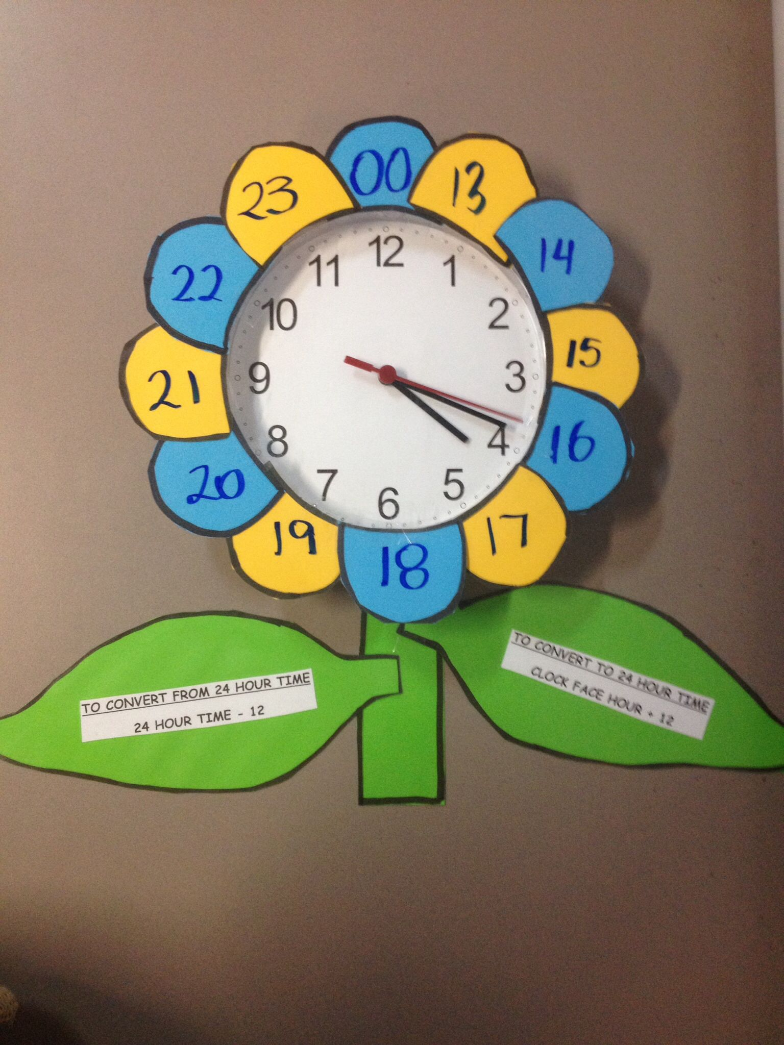 24 Hour Time Success Maths Lesson Worked For Grade 5 6