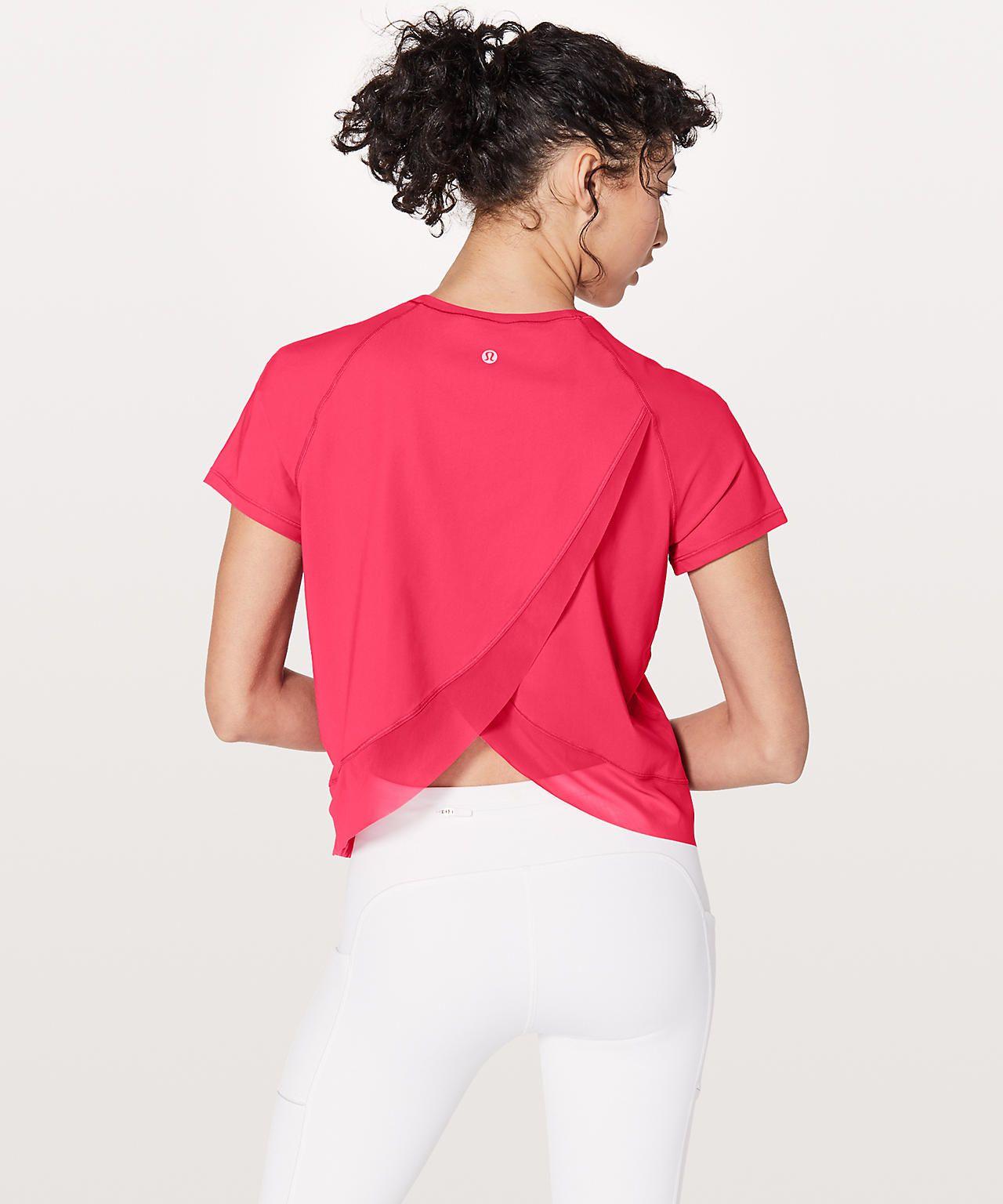 Fuchsia Pink | Short sleeve tops women, Adidas shirt women