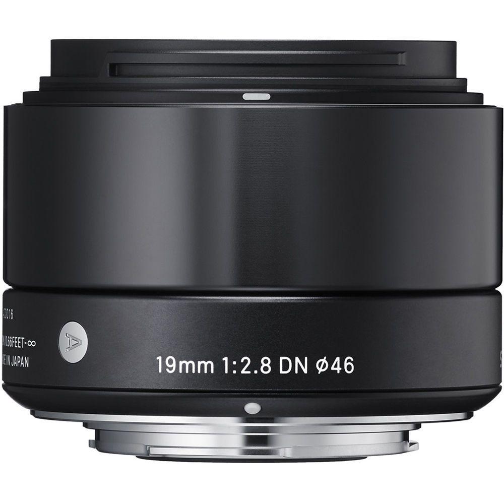 Sigma 19mm F 2 8 Dn Art Lens For Sony E Black Art Lens Sigma Lenses Sony E Mount