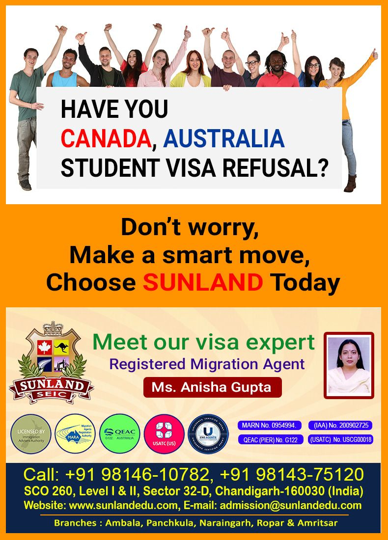 Have You Canada Australia Student Visa Refusal Don T Worry