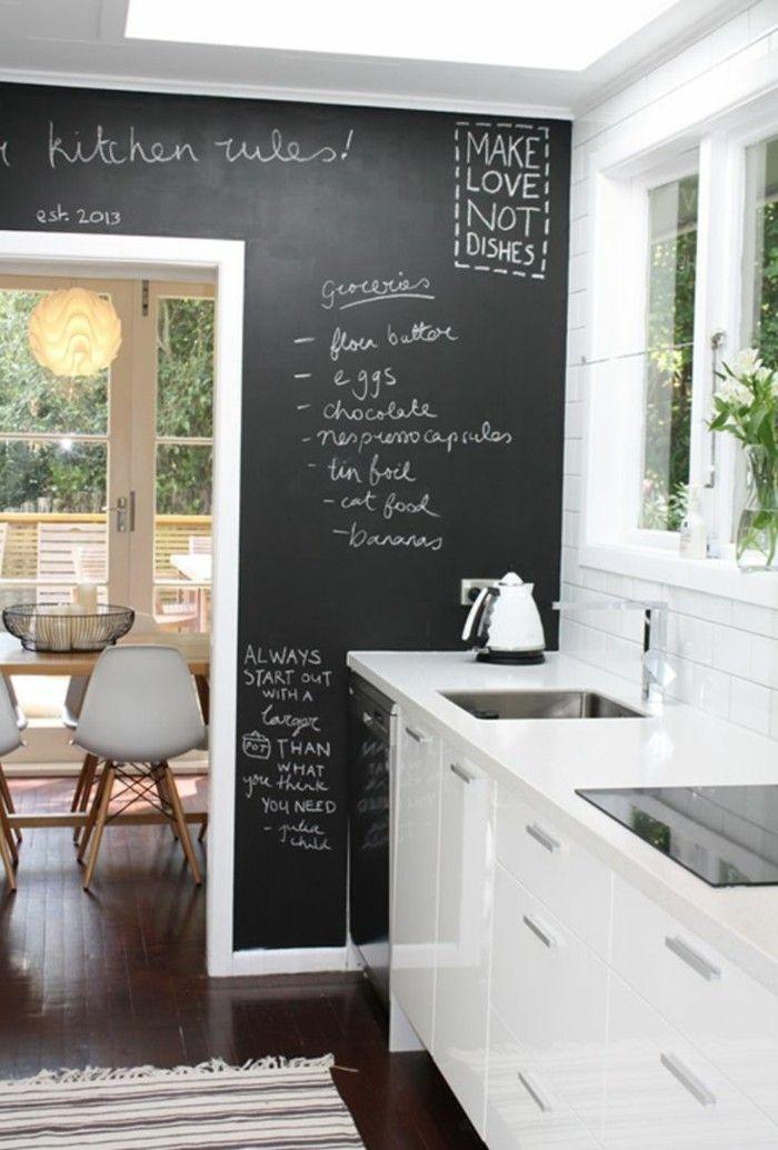 Küchengestaltung wand  küchengestaltung kücheneinrichtung küche einrichte   Küche Möbel ...