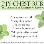 DIY Essential Oil Chest Rub for Congestion & Respiratory Support