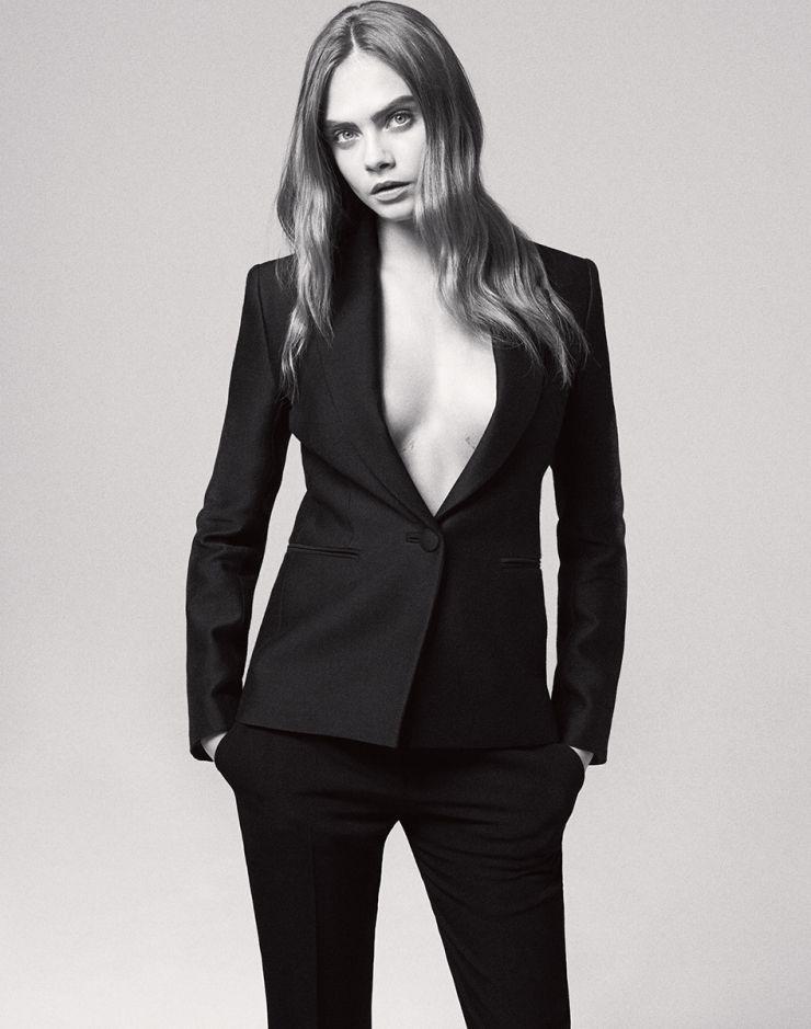 Cara Delevingne by Daniel Jackson for WSJ Magazine June 2015