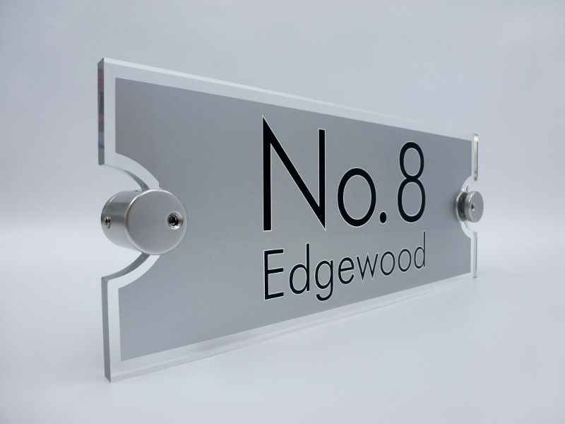 ACRYLIC HOUSE SIGN NEWS De signage are proud to be top of the