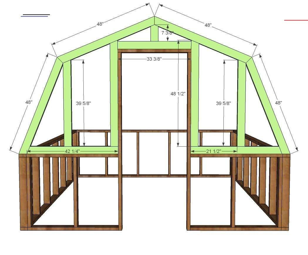 Diy Greenhouse Anawhite Diy Greenhouse Plans Build Your Own Diy Greenhouse Free Step By Step Plans By Ana White Com I 2020 Sma Huse Haveplanlaegning Haveideer