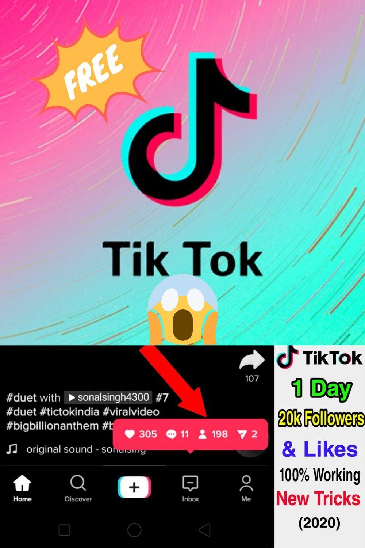 How To Get Free Tiktok Followers 2020 Free New Tricks How To Get