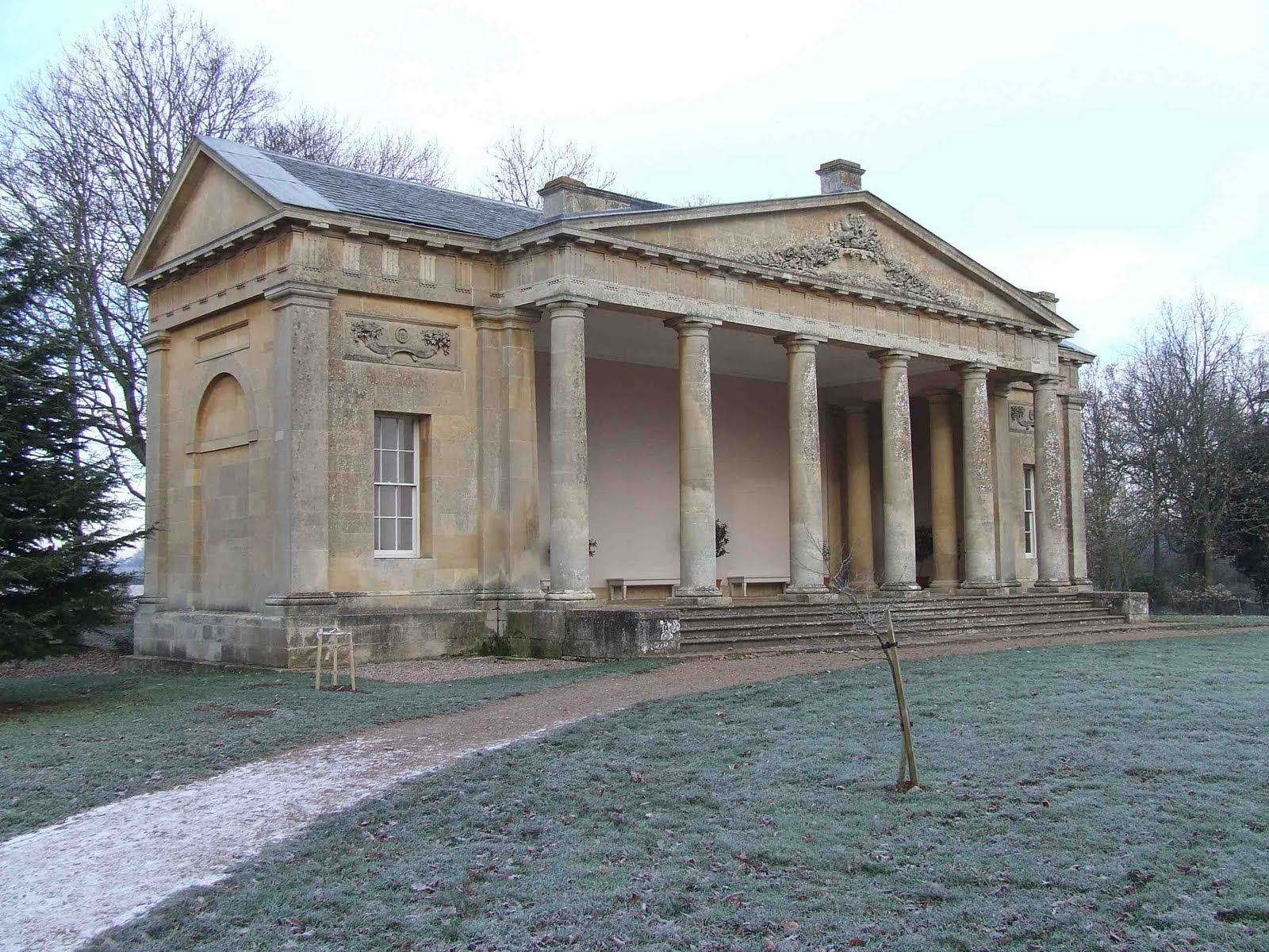 Neoclassical house English Buildings c 1700 1837 British