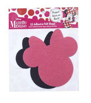 Disney Minnie Mouse Ears Adhesive Felt Pack Small
