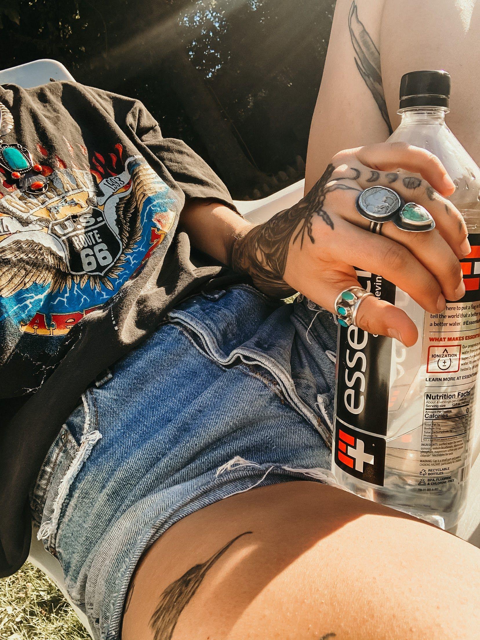 #vintage #boho #bohostyle #bohemian #distressed #handmade #thrifting #thrift #turquoise #photography #levis #denim #vintagestyle #vintagedenim #wildwoman #denimondenim #dessert #festival #coachella #musicfestival #festival #festivalfashion