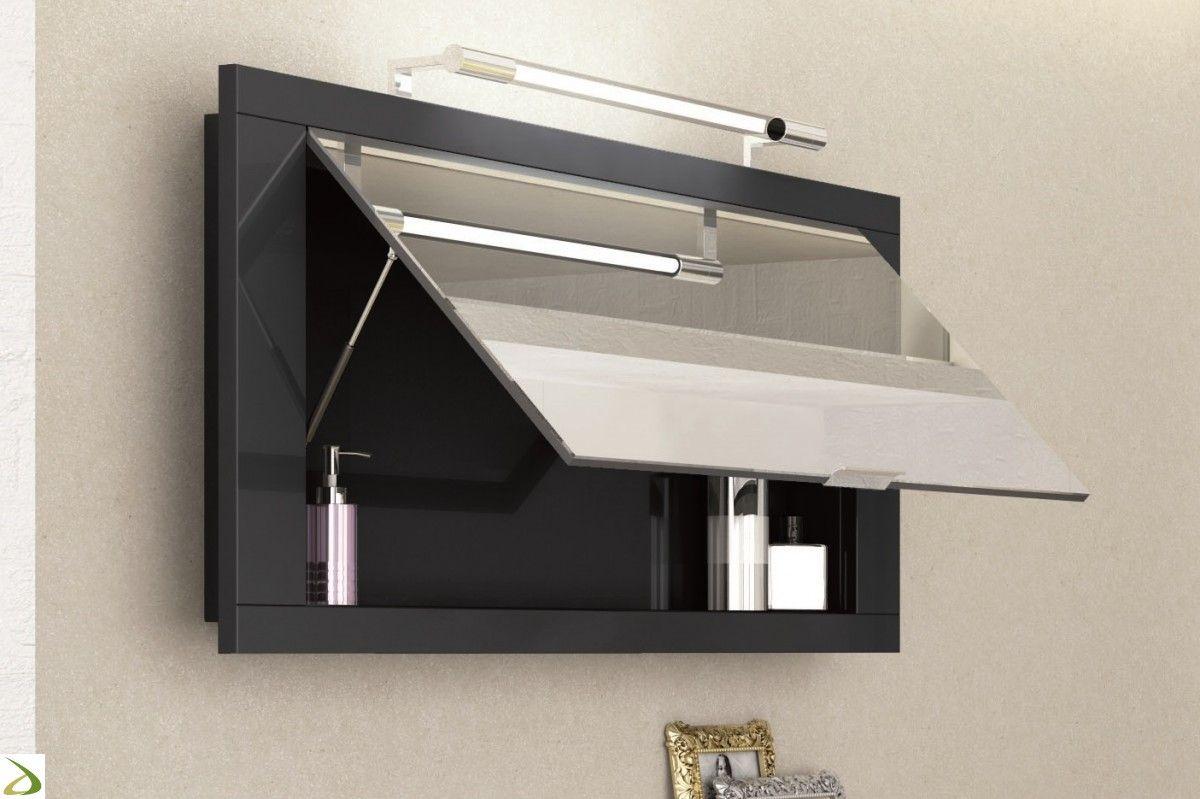 Specchiera contenitore da bagno | Bagni | Specchio contenitore ...