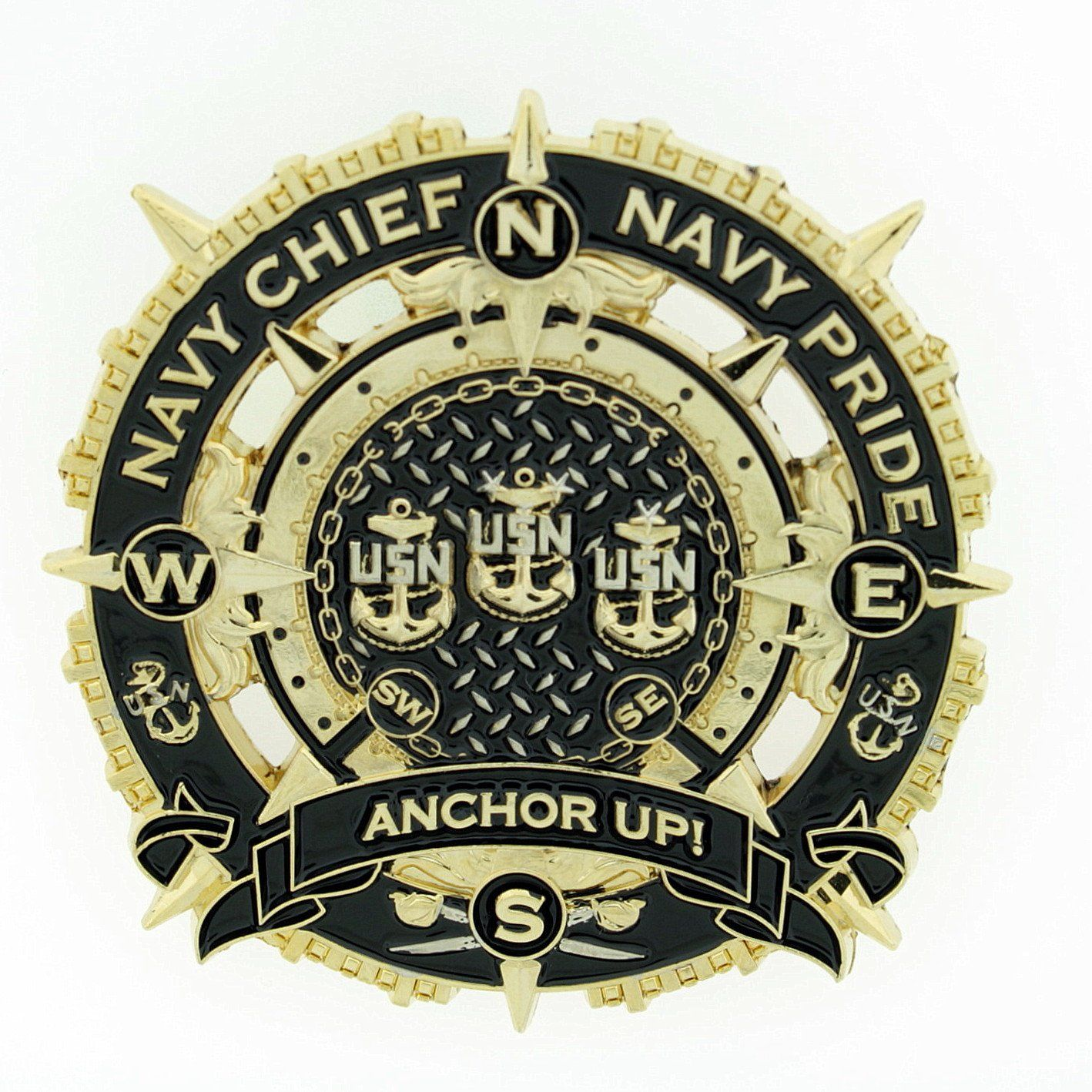 Cpo chief male compass coin navy chief navy pride anchor up cpo chief male compass coin navy chief navy pride anchor up biocorpaavc Gallery