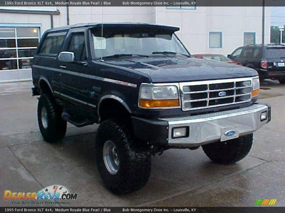 Ford Bronco 1995 4x4 Full Size 5 0 For Sale 1995 Ford Bronco Xlt