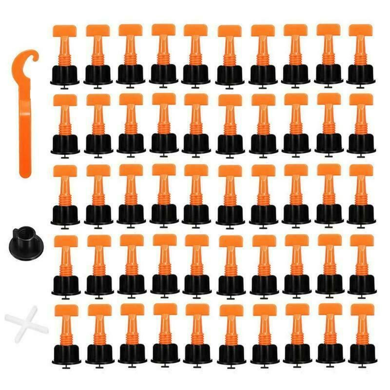 Details About 50pcs Tile Leveling System Toolkit Level Wedges Alignment Spacers For Leveler Lo Tile Spacers Ceramic Tiles Tile Leveling System