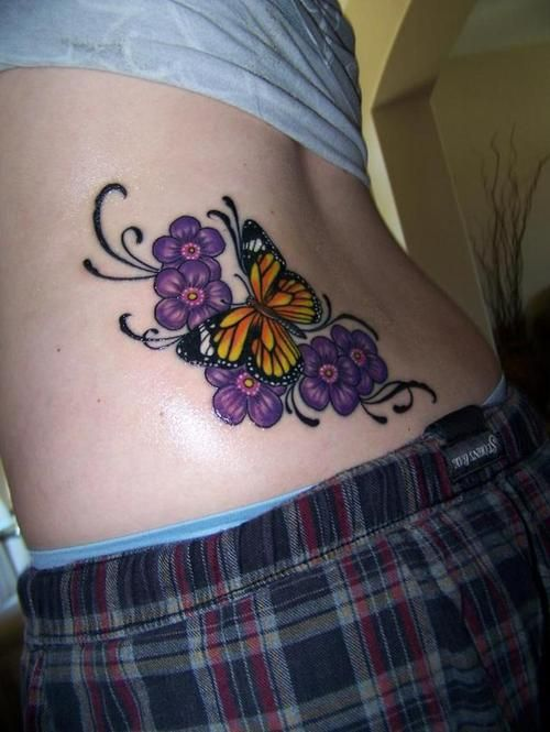 0e69bc971 Possible cover-up for the dolphin on my ankle... #butterfly #tattoos ...