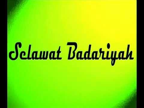 Selawat Badariyah Youtube Youtube Songs