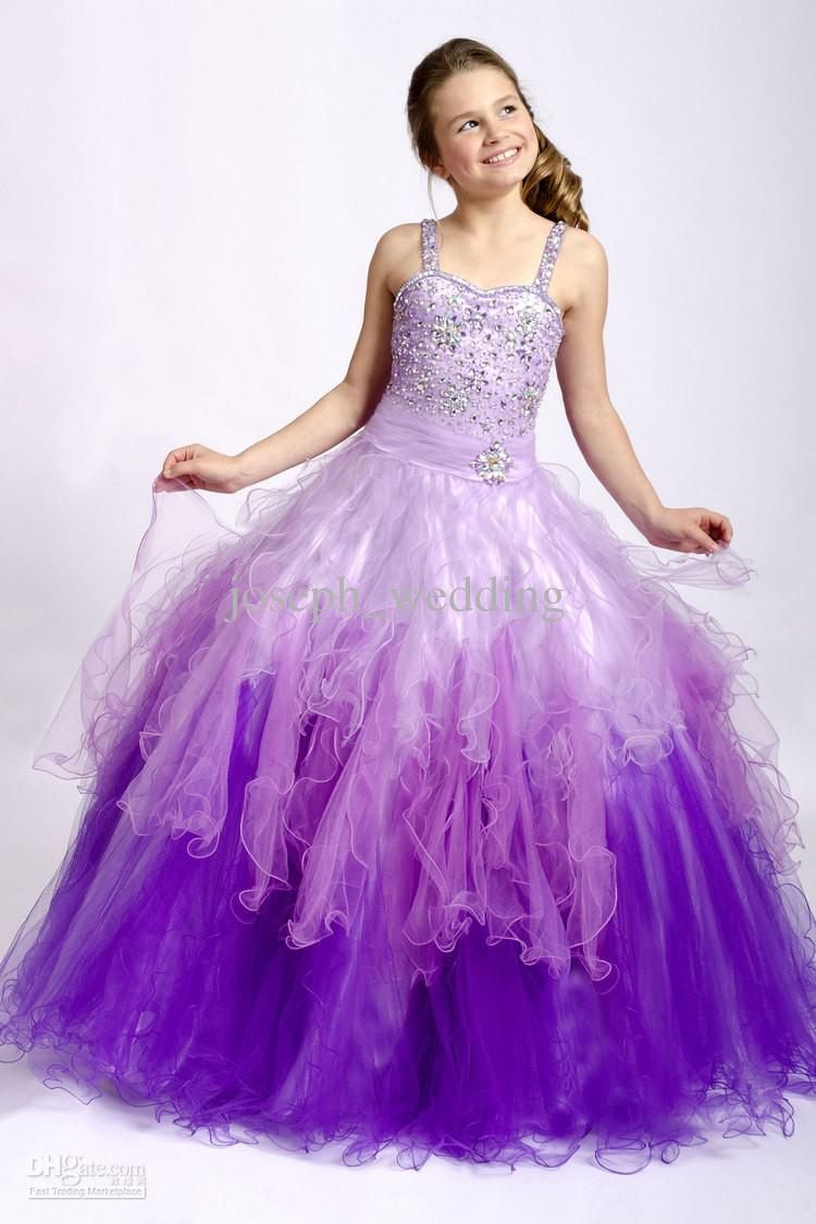Purple Dress For Kidswholesale Pageant Dresses Buy Cute Purple