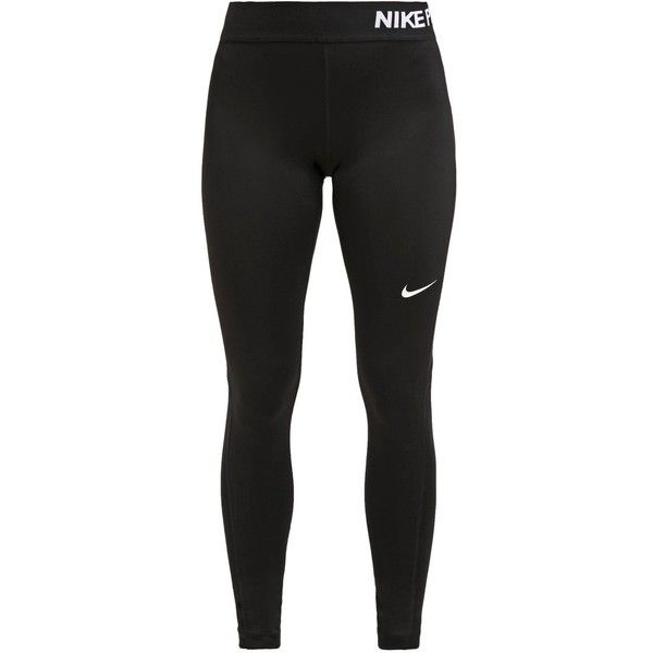 Nike Performance PRO COOL (635 ARS) ❤ liked on Polyvore featuring activewear, activewear pants, pants, bottoms, leggings, nike sportswear, nike activewear pants, nike activewear and nike