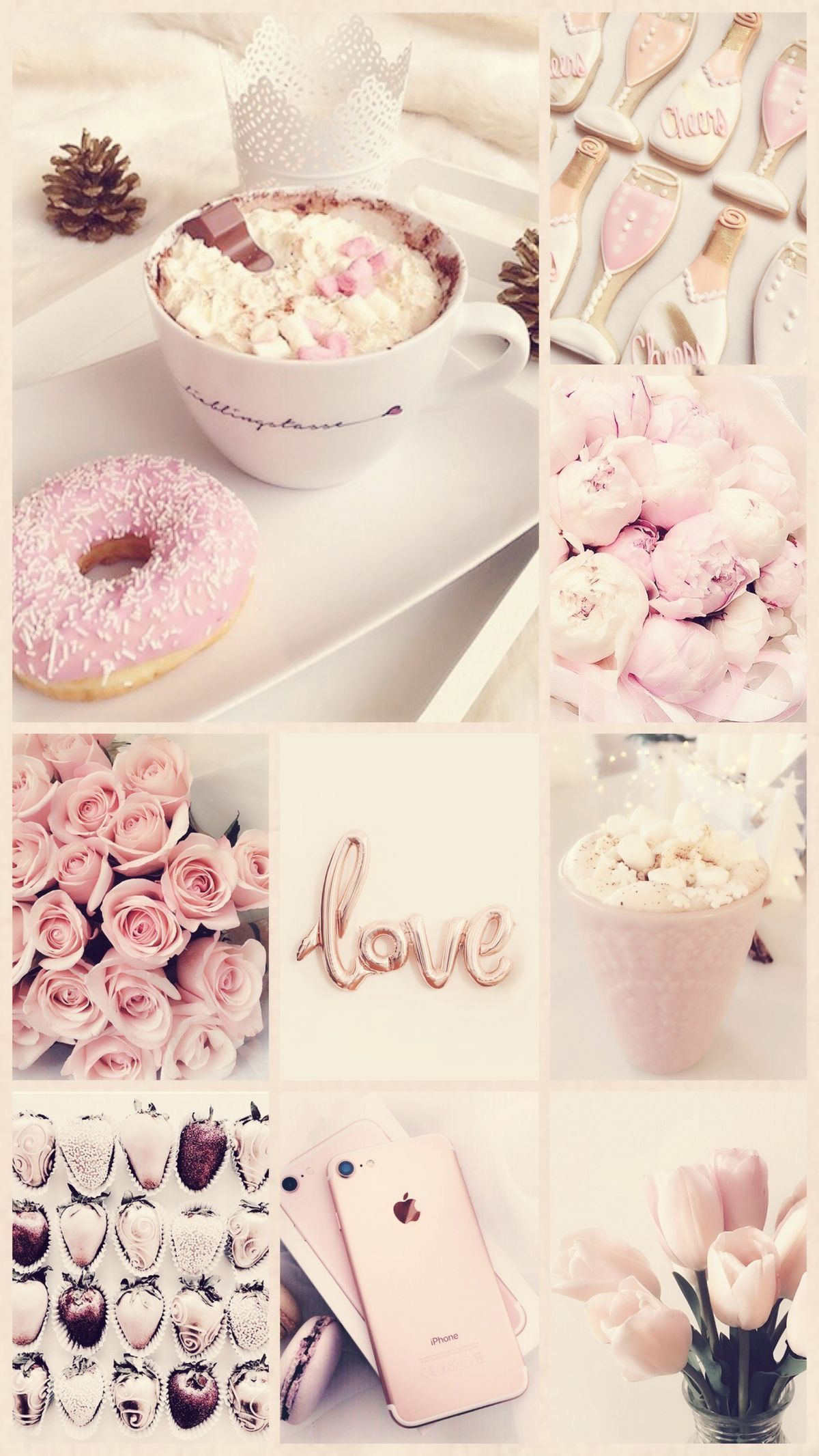 1920x1080 pink aesthetic desktop wallpaper tumblr>. 20+ Inspiration Pastel Aesthetic Rose Gold Cute Wallpapers ...
