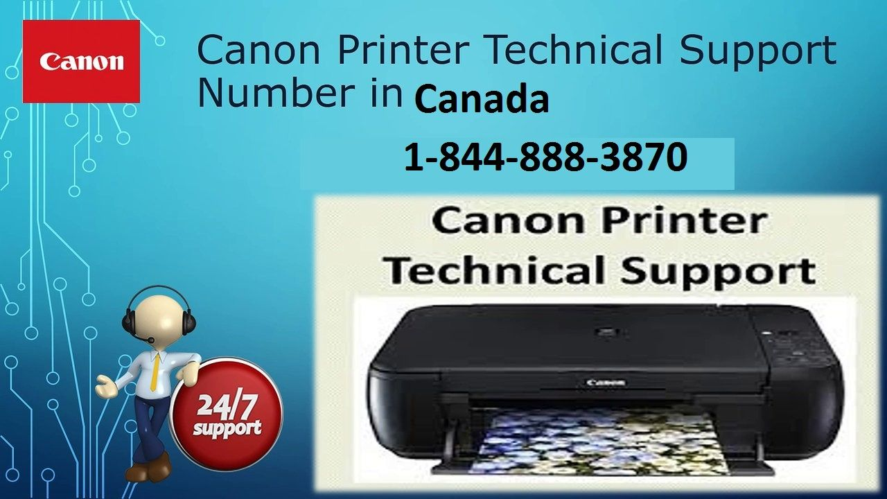 All you need to do is just make a call on Canon Printer
