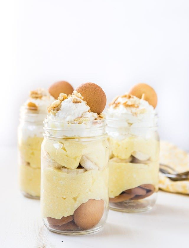 Banana Pudding from Scratch   Food   Pinterest   Postres, Clasicos y ...