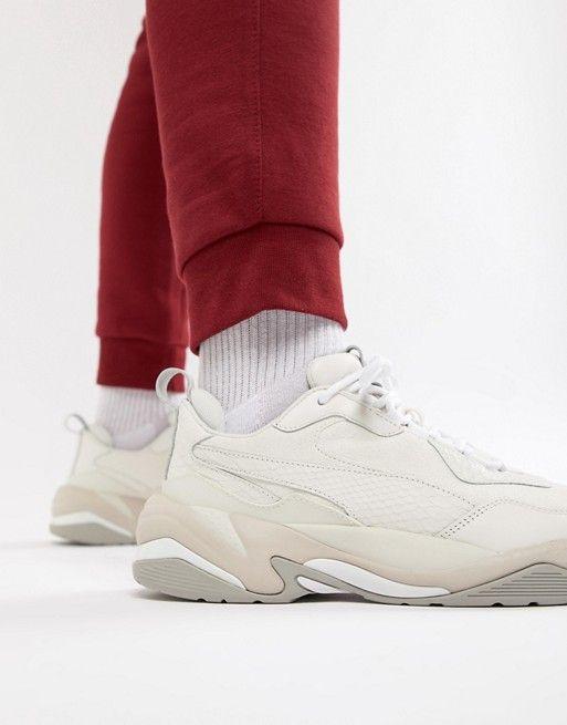 Puma Thunder Desert Sneakers In White 36799703  5564a55e7