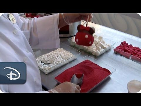 Photo of Making Minnie Mouse Candy Apples at Marceline's Confectionery