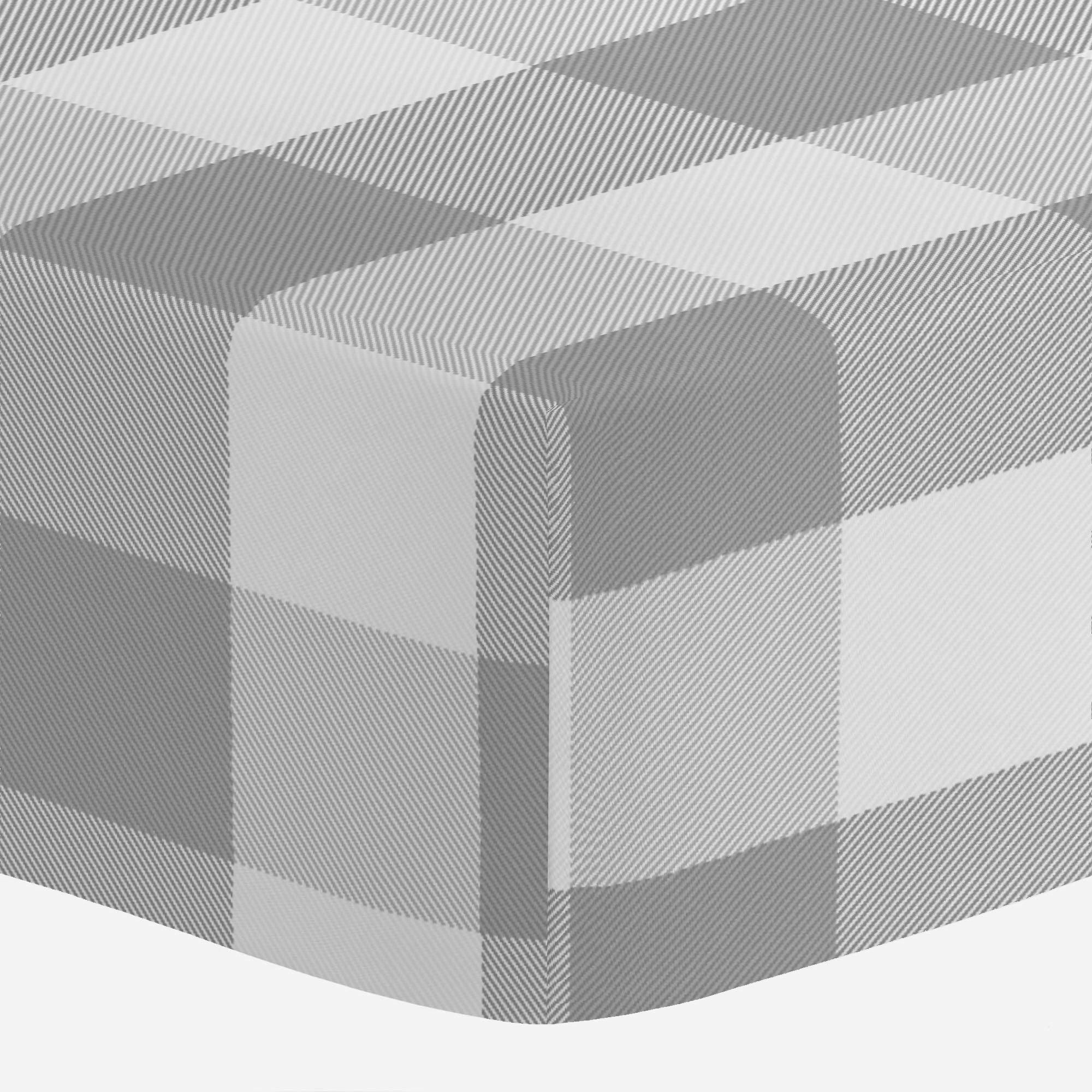 Gray Buffalo Check Crib Sheet With Images Mini Crib