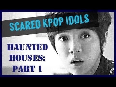 Scared K Pop Idols Haunted Houses Bigbang Shinee Exo Monsta X Boyfriend Kpop Idol Kpop Shinee