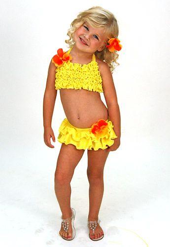 bathing suit little girl swimwear pageant