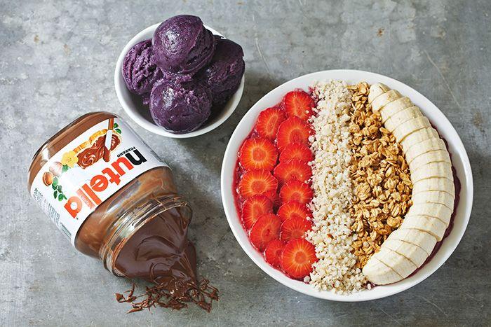 N Bowl Nutella Recipes Acai Bowls Recipe Breakfast Bowls