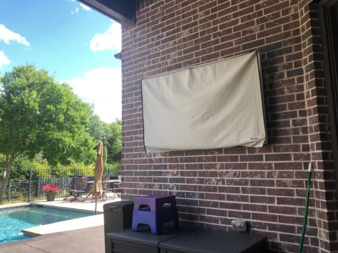 75 outdoor tv covers ideas