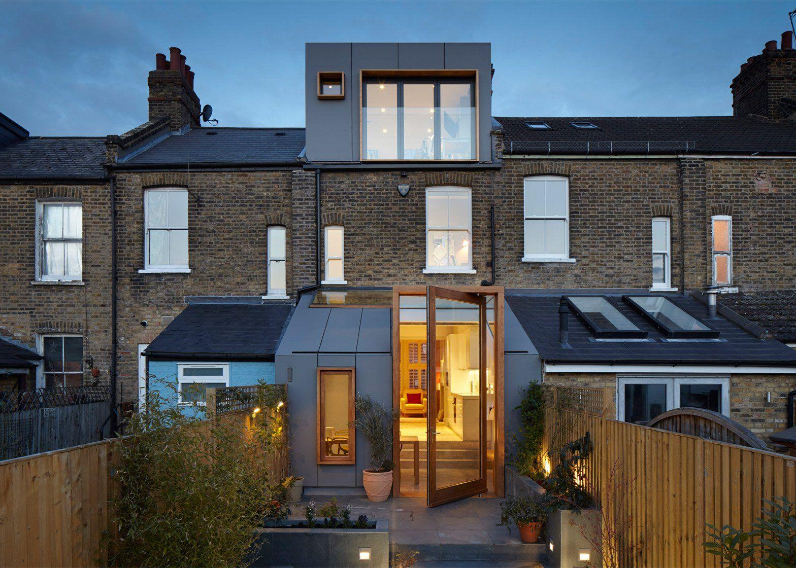 Loft bedroom no door  Almanac adds skylights to Landells Road house extension