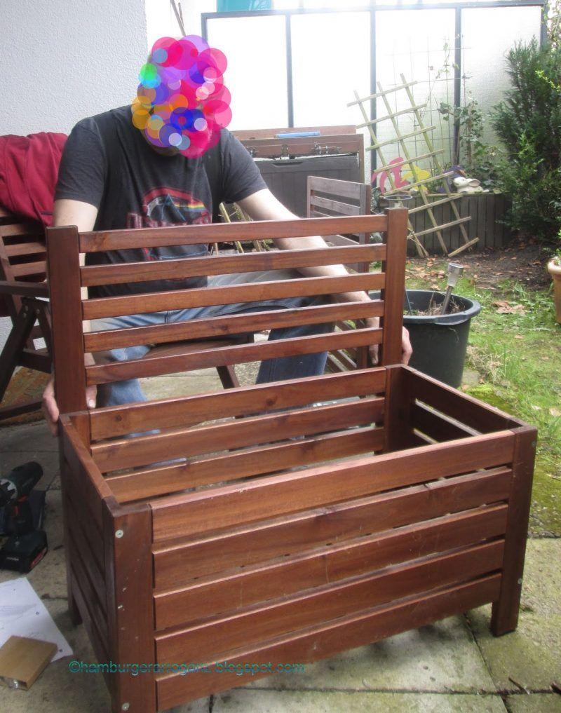 HACK: Mit Ikea Möbeln Gartenbank selber bauen!