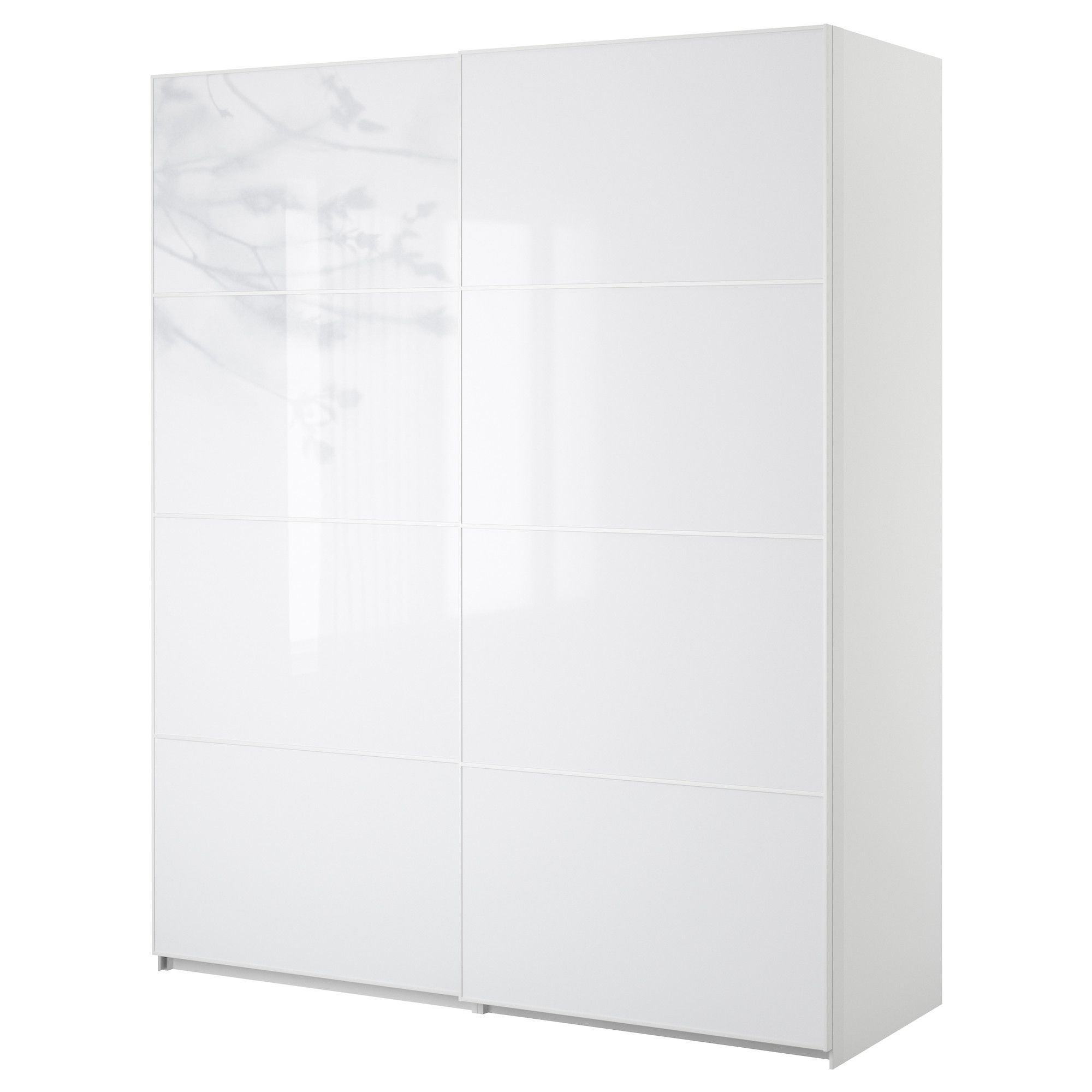 Materials ikea pax tonnes sliding doors white - White Pax Wardrobe With Sliding Doors Possible Major Room Accent Building On The Wood Stone Shelf Accent Wall Idea Sliding Doors Demand Less Space