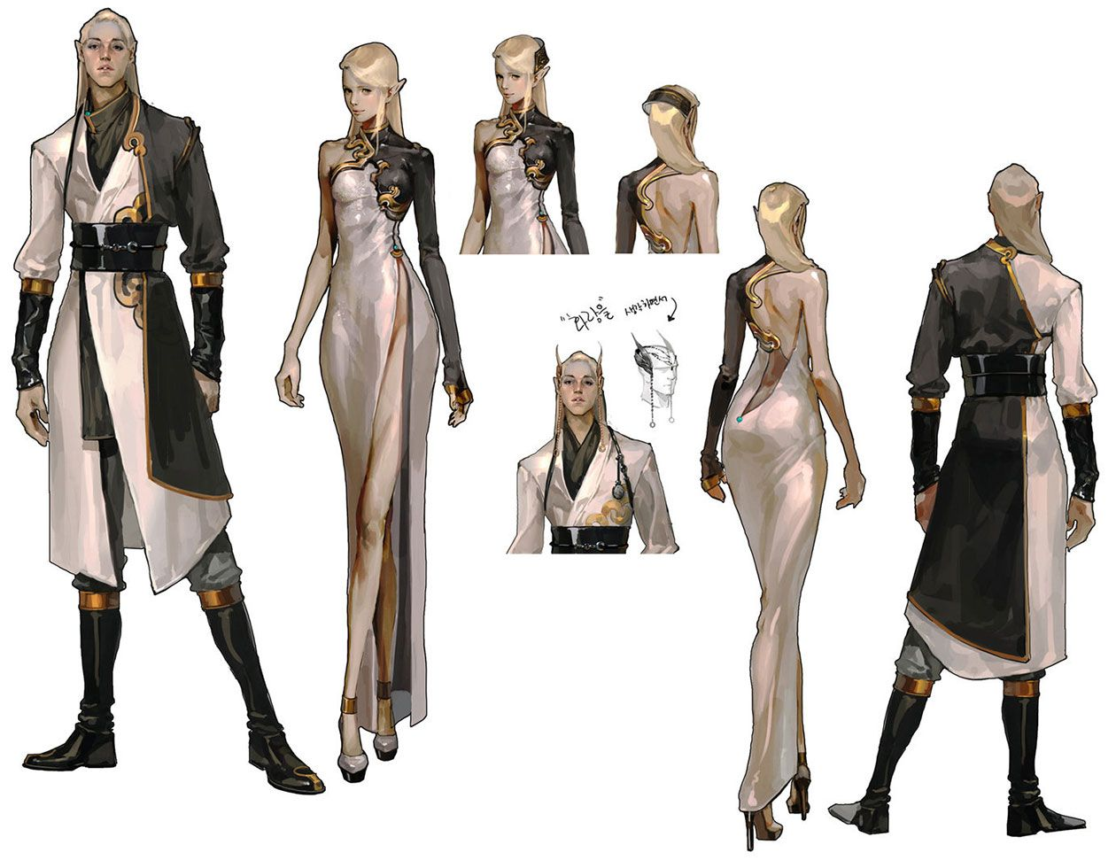 Awesome Clothing Designs From Mabinogi II: Arena