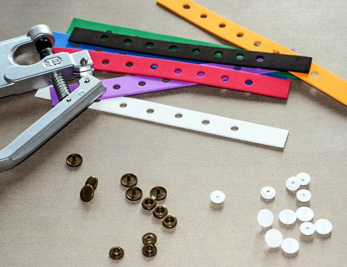 23083a709336d Make these DIY charm bracelets for shoe charms (Jibbitz) out of craft foam.  They re easy to make and are perfect for party favors.