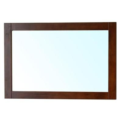 Bellaterra Home Cork 24 in. L x 36 in. W Solid Wood Frame Wall ...