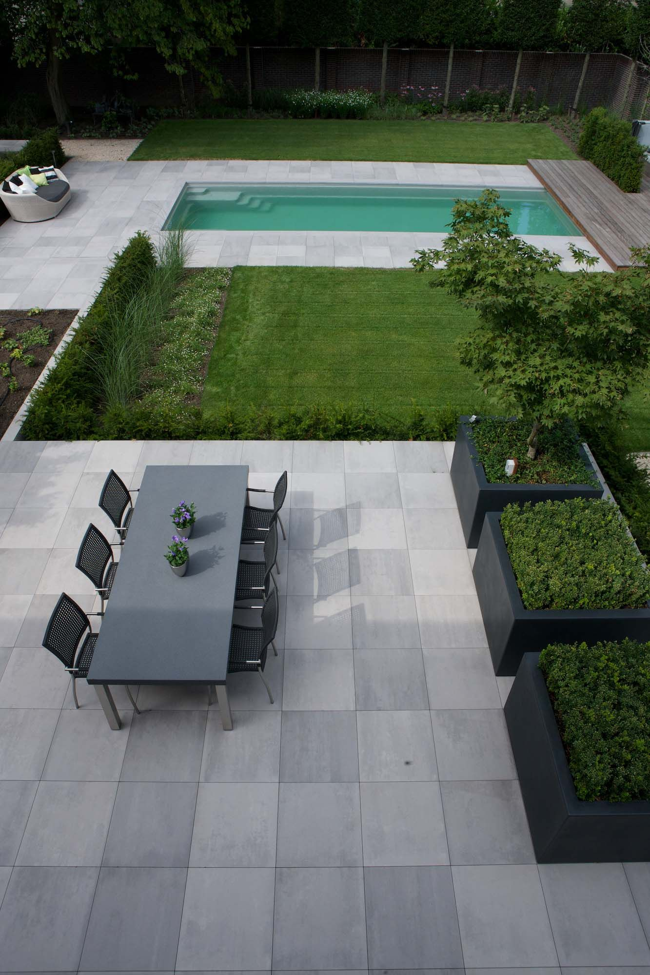 Beautiful Grey Waterproof Flooring Ideas For Living Room: Royal Mosa Tiles, Exterior Tiles Terra Tones