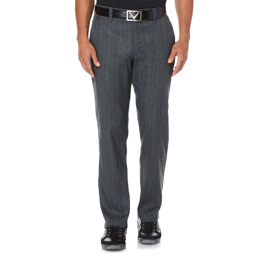 Men Golf Clothing Callaway Mens OptiStretch Herringbone
