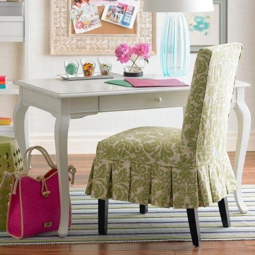 Parsons Chair Slipcovers · Custom Dinning Slipcover