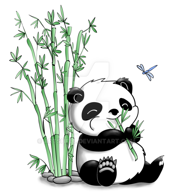 Panda Eating Bamboo Panda Mania Pinterest Panda Bamboo And