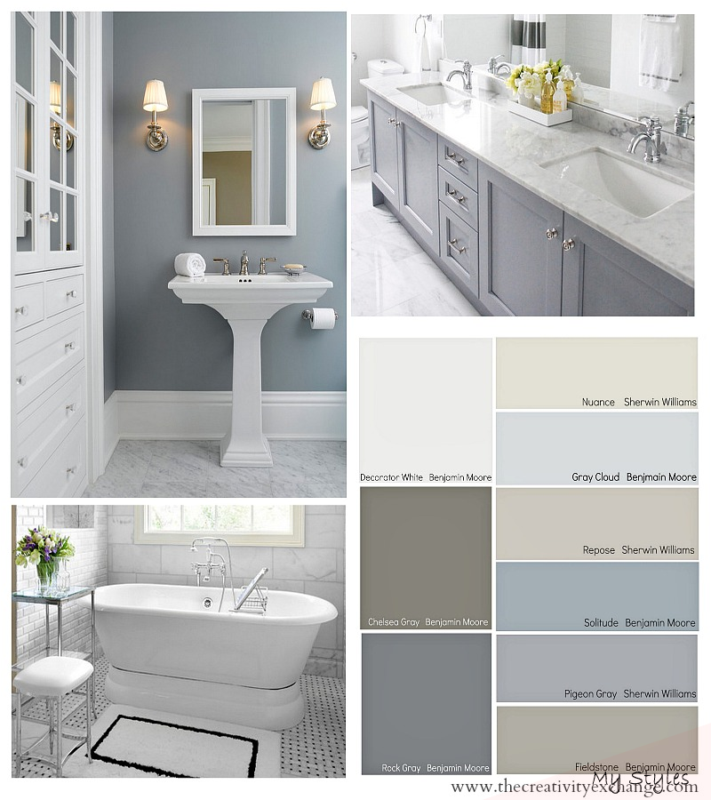 Jun 7 2019 Choosing Paint Colors For The Bathroom Are Tricky But With Our Tips About Lighting And In 2020 Best Bathroom Colors Bathroom Color Schemes Bathroom Color