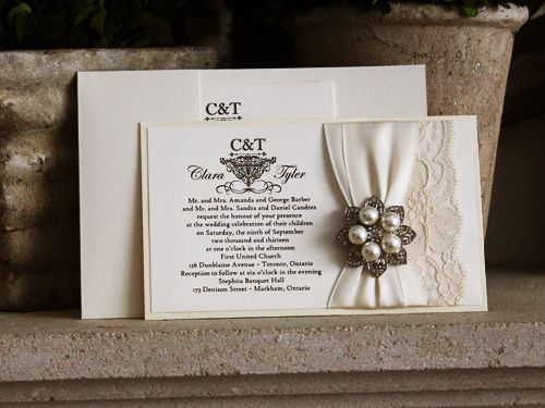 Invitation 768 White Gold Buttermilk Pearl Cream Smooth Easy