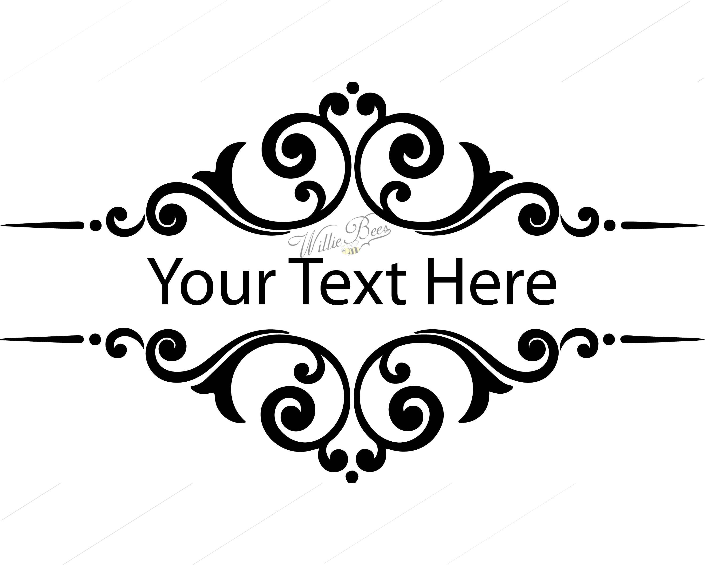 Image Result For Free Split Monogram Svg