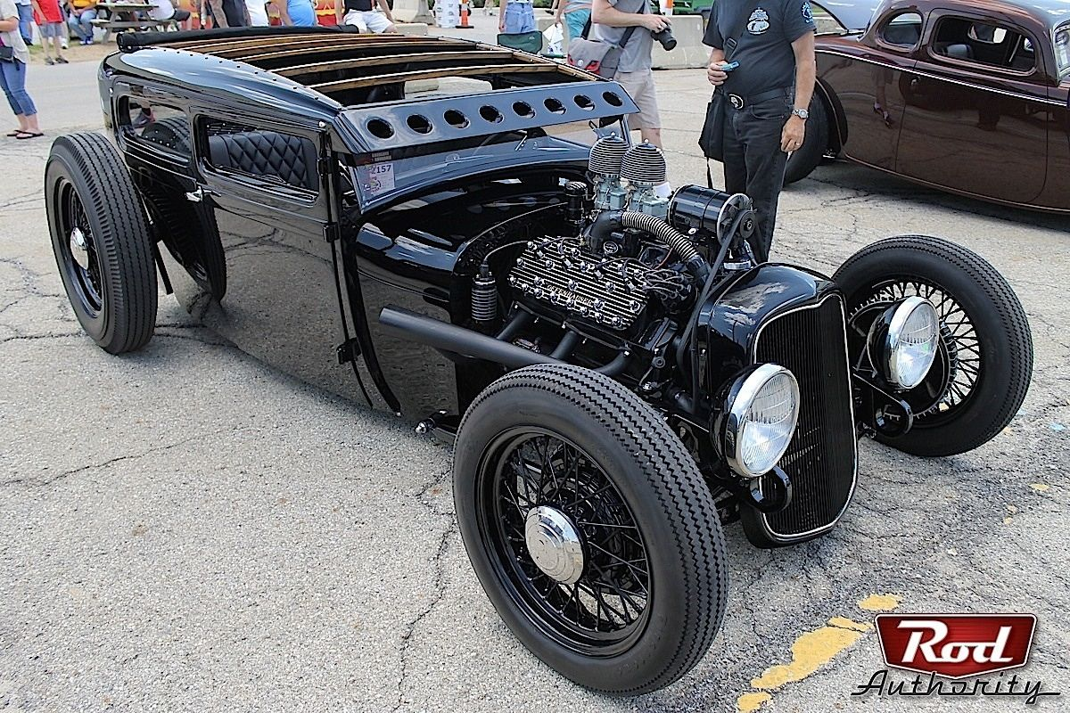 This chopped and channelled Ford Model A was a low-slung car we couldnu0027t help but fall in love with. We interviewed the builder Ricky Bobby ... & This chopped and channelled u002729 Ford Model A was a low-slung car ... markmcfarlin.com